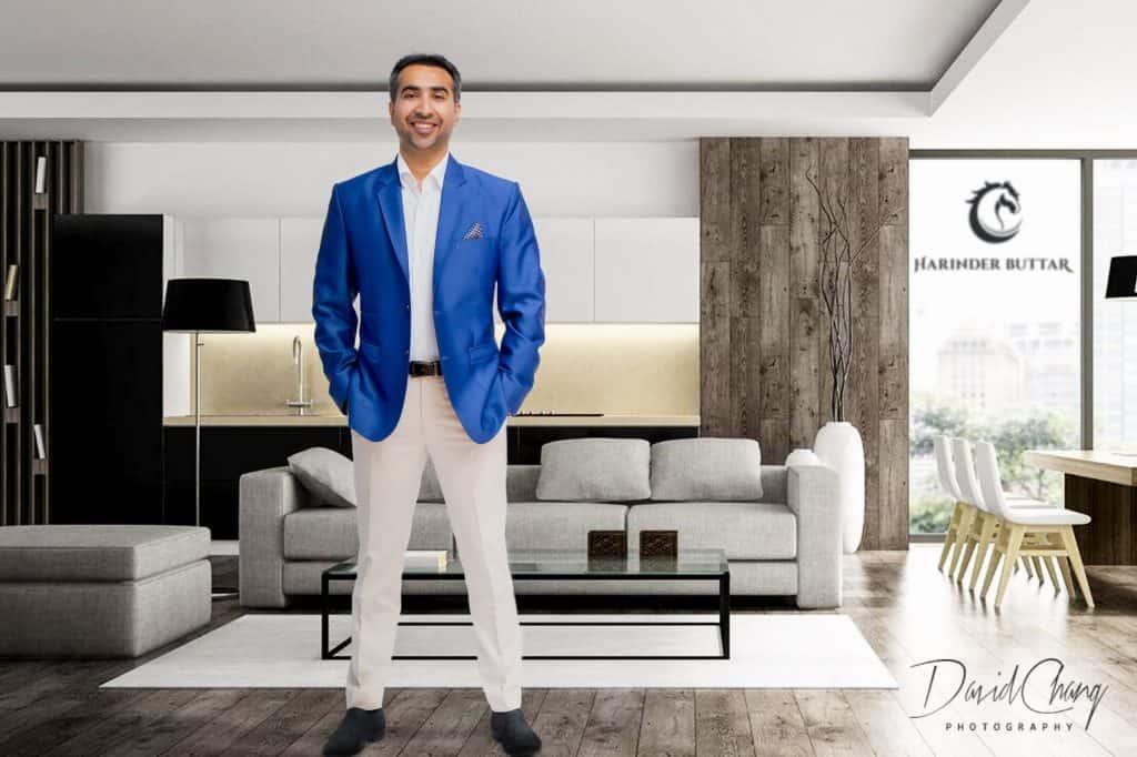 Real Estate Agent Headshots Toronto - David Chang