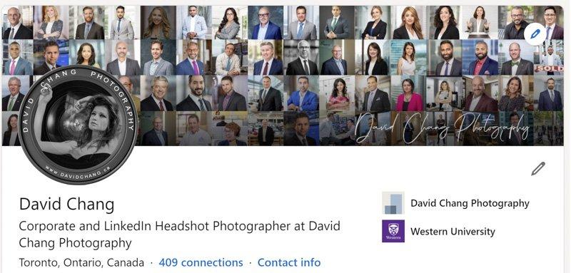 Headshots Toronto - David Chang Photography